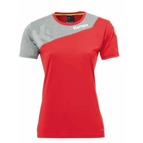 Kempa Core 2.0 Jersey Women red/gray