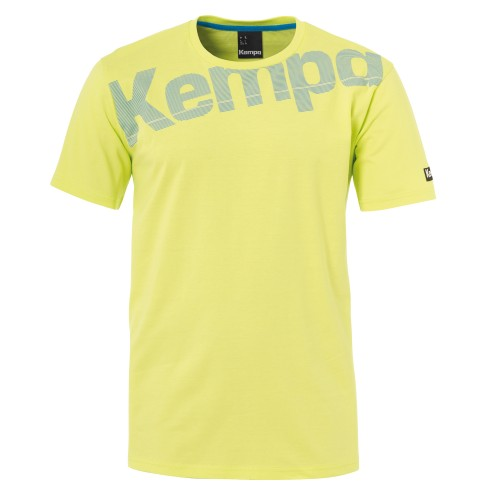 Kempa Core Cotton Shirt springyellow