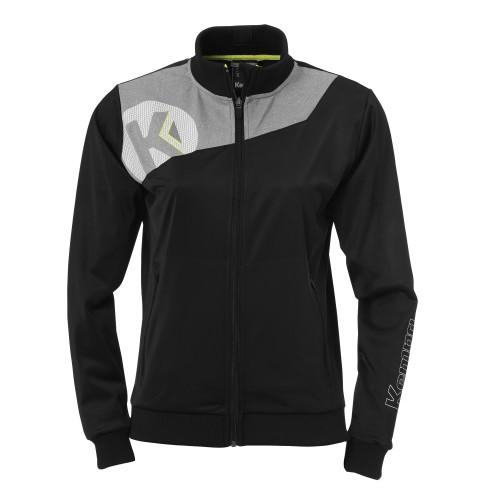 Kempa Core 2.0 Poly Jacke Damen schwarz/grau