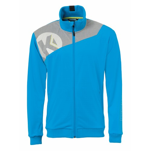 Kempa Core 2.0 Poly Jacket Kids blue/gray