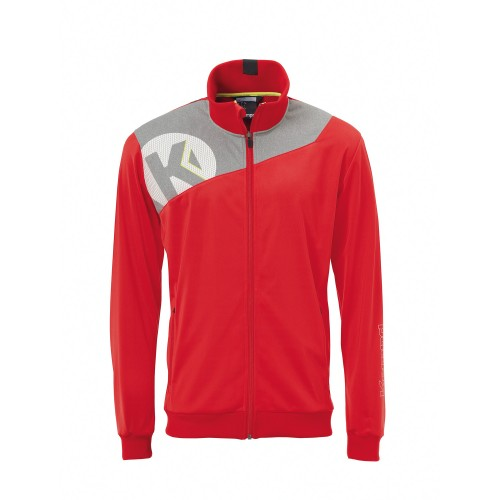 Kempa Core 2.0 Poly Jacket Kids red/gray