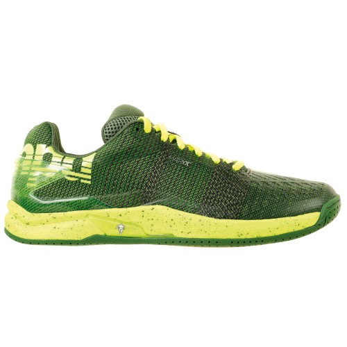 Kempa Handball shoes Attack One Contender green/yellow