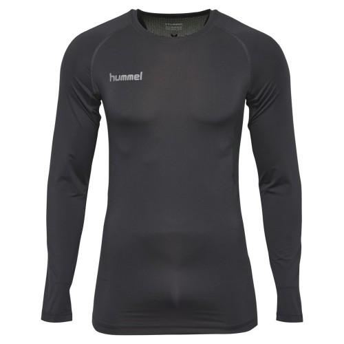 Hummel First Performance ls. Shirt Kinder schwarz
