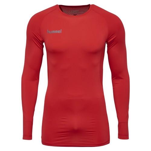 Hummel First Performance ls. Shirt kids red