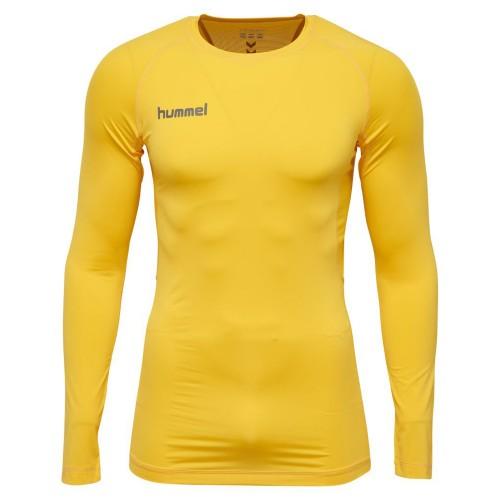 Hummel First Performance ls. Shirt Kinder gelb