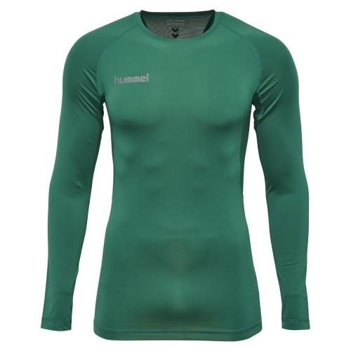 Hummel First Performance ls. Shirt Kinder grün