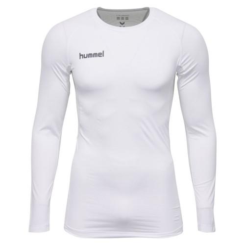 Hummel First Performance ls. Shirt Kinder weiß