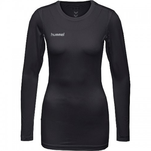 Hummel First Performance ls. Shirt Damen schwarz