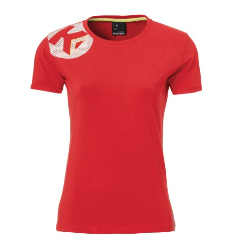 Kempa Core 2.0 Tee women red