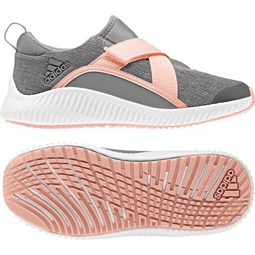 Adidas ____ schuhe Forta Run X CF Kinder grau/rosa
