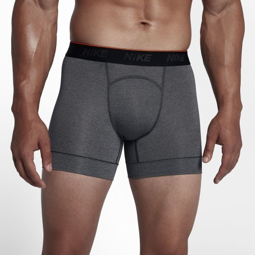 Nike Boxer Shorts 2er Pack grau
