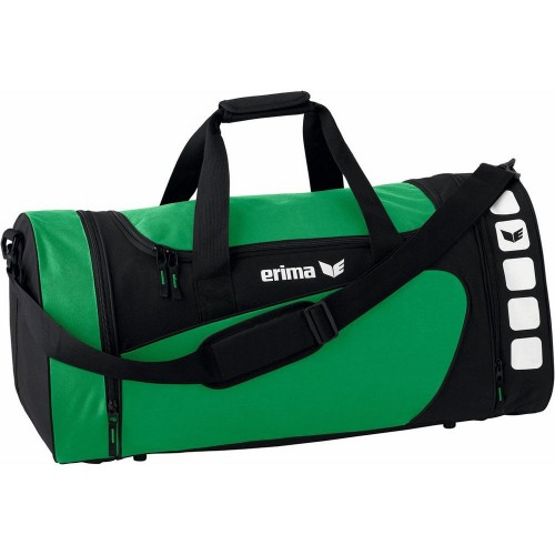 Erima Sports bag Club 5 Line smaragd/black medium