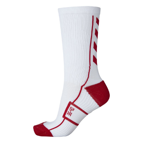 Hummel Tech Indoor Sock low weiß/rot