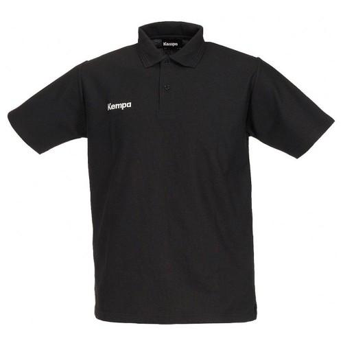 Kempa Polo Shirt schwarz