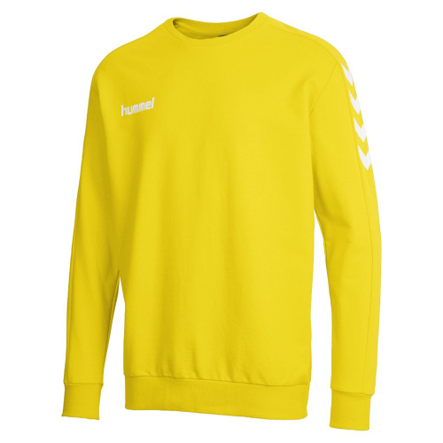 Hummel Core Cotton Sweat yellow