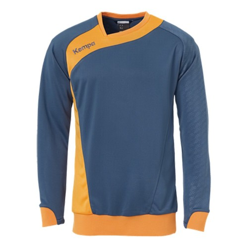 Kempa Peak Trainings-Top petrol/orange