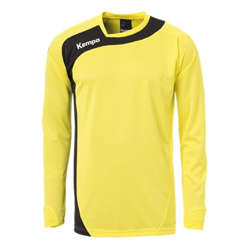 Kempa Peak Long Sleeveshirt limonenyellow/black