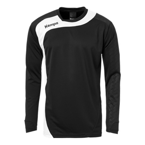 Kempa Peak Long Sleeveshirt black/white