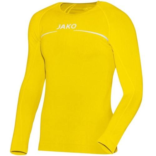 Jako Longsleeve comfort yellow