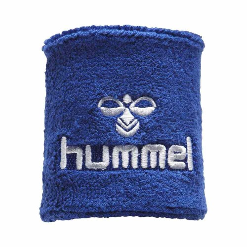 Hummel Old School Small Sweatband blue/white