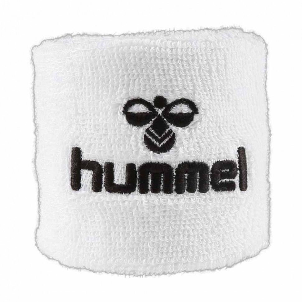 Hummel Old School Small Sweatband white/black
