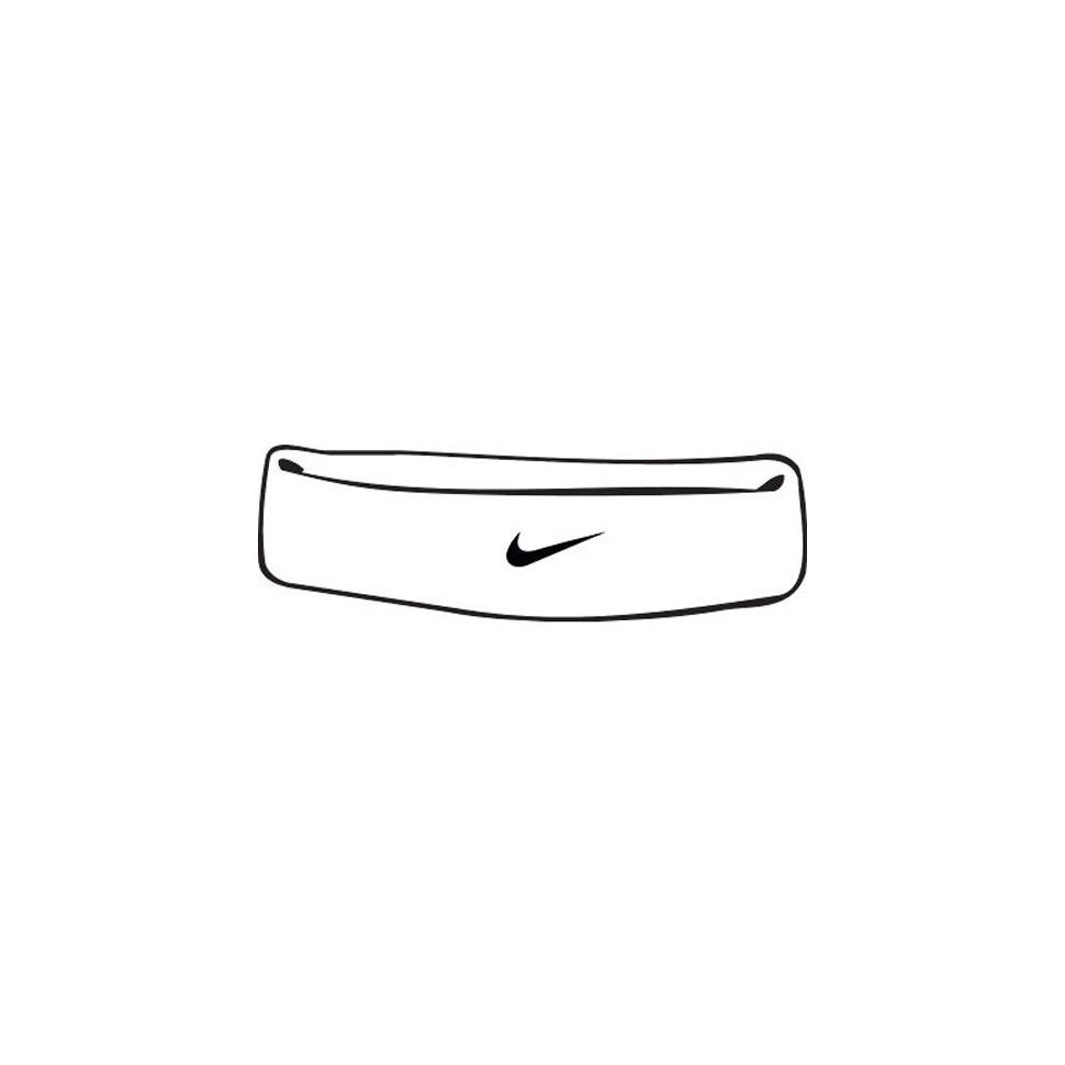 Nike Swoosh Stirnband weiss