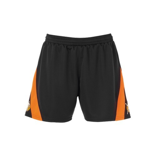 Kempa Damen-Short Motion dunkelanthrazit/orange