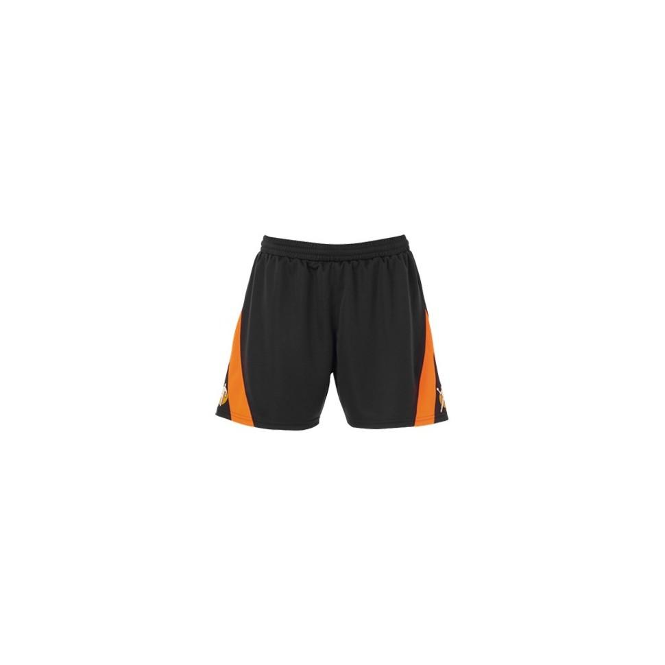 Kempa Woman-Short Motion dunkelanthrazit/orange