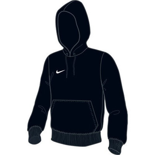 Nike Kids-Kapuzen-Sweatshirt Team Club Hoody black