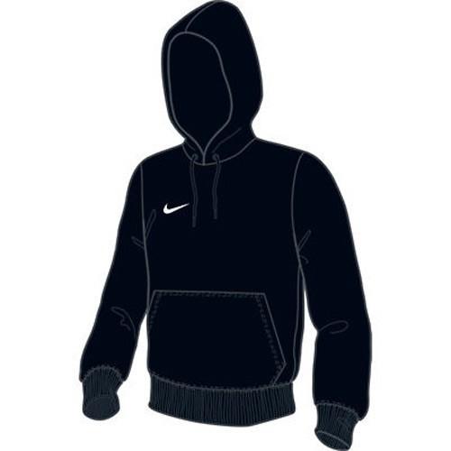Nike Kinder-Kapuzen-Sweatshirt Team Club Hoody schwarz