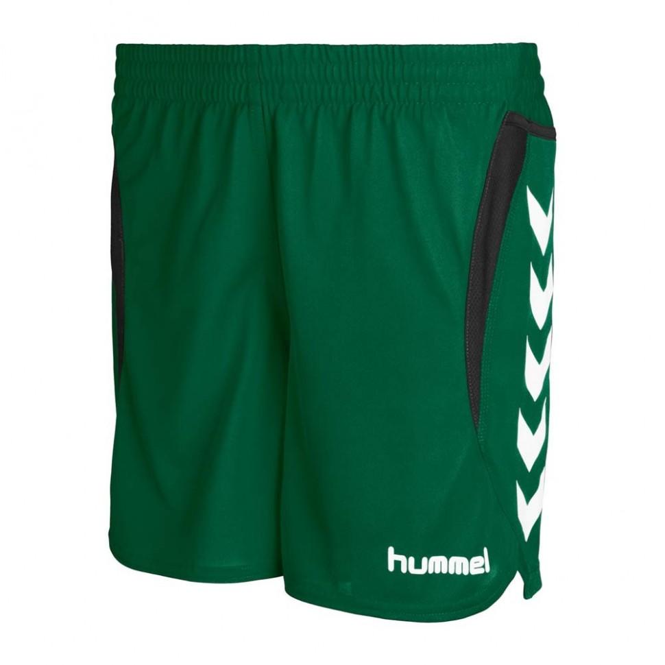 Hummel Woman Short Team Player  (green)