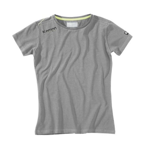 Kempa Core Baumwoll Shirt Damen grau melange