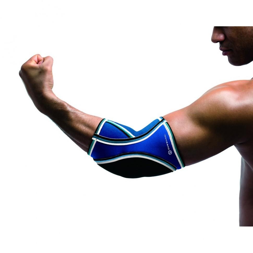 Rehband Ellenbogenschutz Handball blau