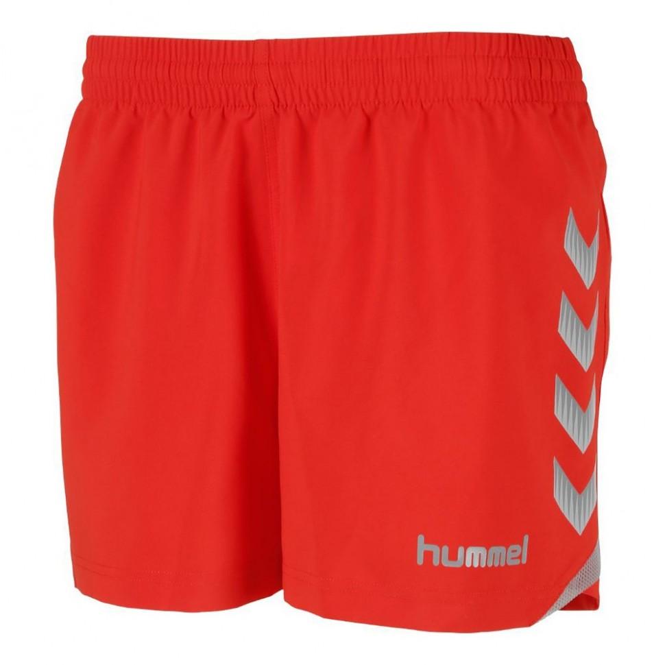 Hummel Tech-2 Knitted Short Damen rot