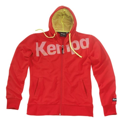 Kempa Woman Core Hooded Jacket rot