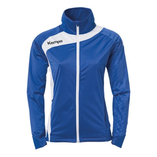 Kempa Peak Multi Jacke Women royal/weiß