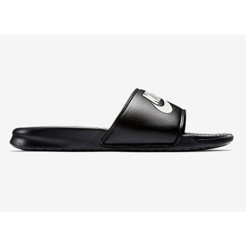 Nike Badesandalen Benassi Just Do It schwarz