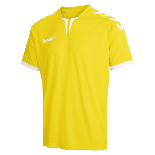 Hummel Jersey Core ss Poly Jersey for Kids yellow