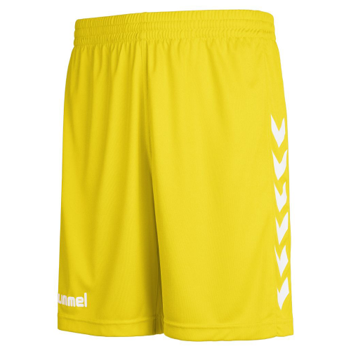 Hummel Core Poly Shorts for Kids yellow