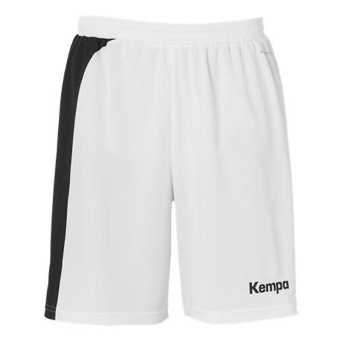 Kempa Peak Short für Kinder weiß/schwarz