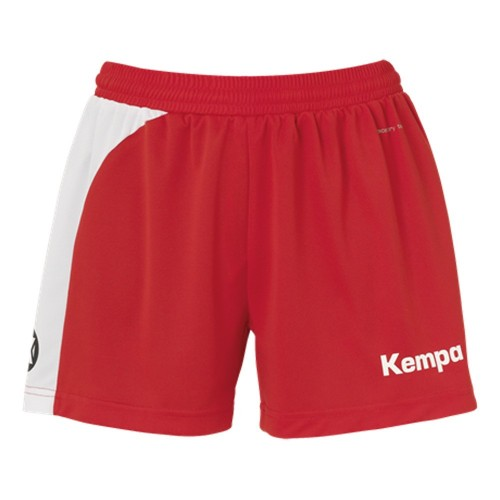 Kempa Peak Short Women rot/weiß