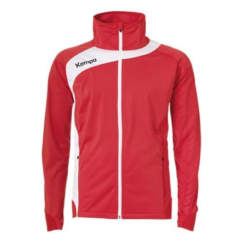 Kempa Peak Multi Jacke für Kinder rot/weiß