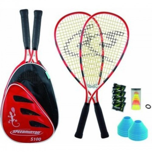 Sport 2000 S100 PLUS Speedminton Set rot
