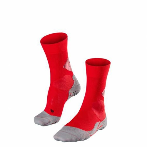 Falke 4 Grip Sports Socks rot/grau