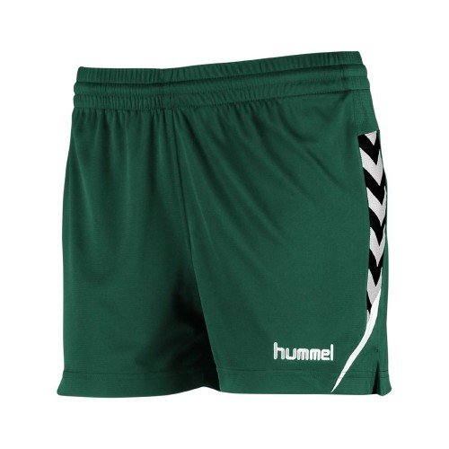 Hummel Damen-Short Authentic Charge 2020 grün