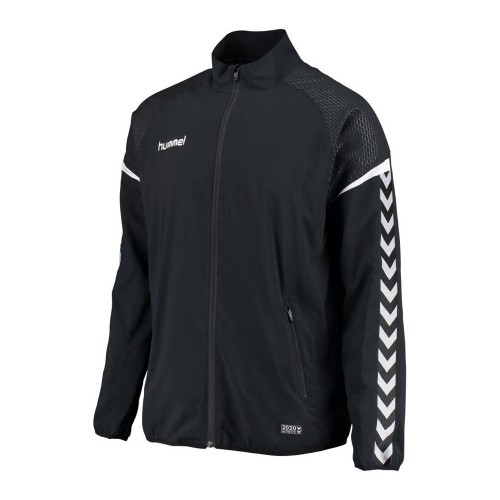 Hummel Zip-Trainingsjacke Authentic Charge Micro schwarz