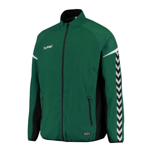 Hummel Zip-Trainingsjacke Authentic Charge Micro grün