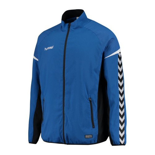 Hummel Zip-Trainingsjacke Authentic Charge Micro blau