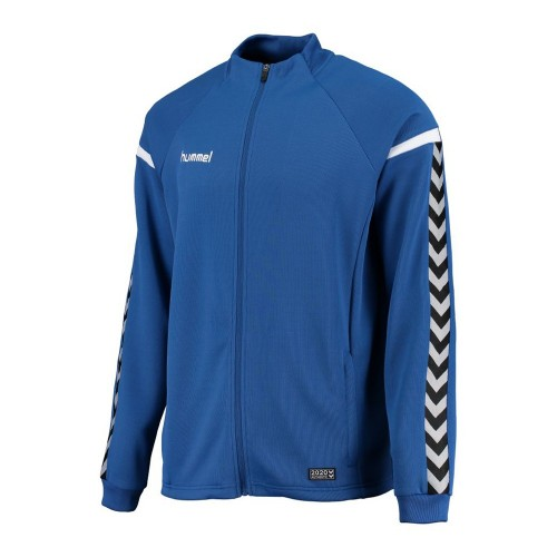 Hummel Zip-Trainingsjacke Authentic Charge Poly blau