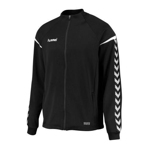 Hummel Kinder-Zip-Trainingsjacke Authentic Charge Poly schwarz